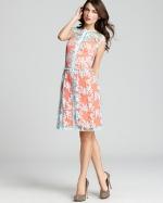 Nanette Lepore varsity two tone dress from Bloomingdales at Bloomingdales