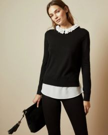 Nansea floral sweater at Ted Baker