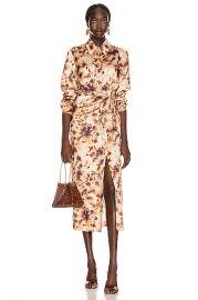 Nanushka Bisso Dress in Tie Dye Print   FWRD at Forward