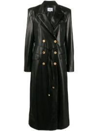 Nanushka Manila vegan leather coat Manila vegan leather coat at Farfetch