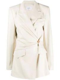 Nanushka wrap front blazer wrap front blazer at Farfetch