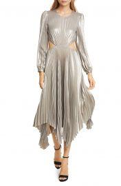 Naples Cutout Waist Long Sleeve Dress at Nordstrom