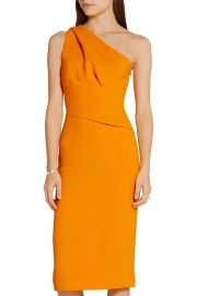 Narciso Rodriguez - One-shoulder stretch-crepe dress at Net A Porter