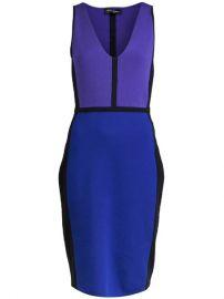 Narciso Rodriguez Color Block Dress - at Farfetch