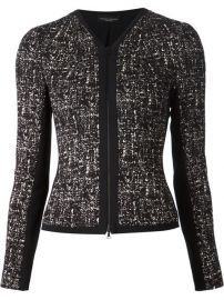 Narciso Rodriguez Printed Tweed Jacket - Huand39s Wear andamp Huand39s Shoes at Farfetch