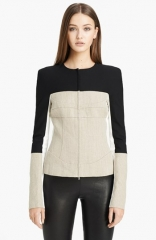 Narciso Rodriguez Stretch Linen Jacket at Nordstrom