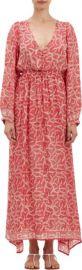 Natalie Martin Medallion-Print April Maxi Dress at Barneys