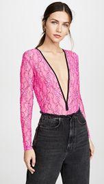 Natasha Zinko Elastic Lace Bodysuit at Shopbop