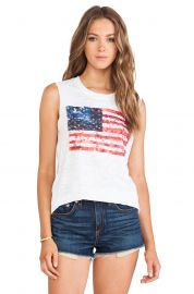 Nation LTD Camden Muscle Tee  at Revolve