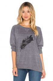 Nation LTD Feather Raglan Sweatshirt at Revolve