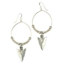 Native Grace Earrings at Katie Dean Jewelry