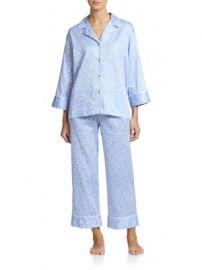 Natori - Leopard Pajamas at Saks Fifth Avenue