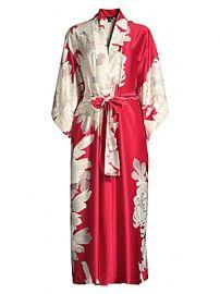 Natori - Opulent Floral Robe at Saks Fifth Avenue