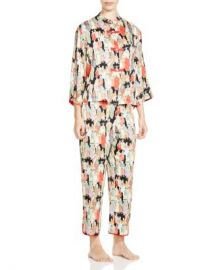 Natori Dynasty Mandarin Pajama Set Women - Bloomingdale s at Bloomingdales