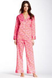 Natori Fleur Pajama Set at Nordstrom Rack