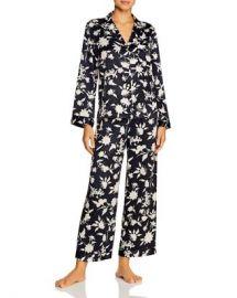 Natori Satin Floral Pajama Set Women - Bloomingdale s at Bloomingdales