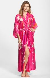 Natori and39Izabellaand39 Satin Robe at Nordstrom