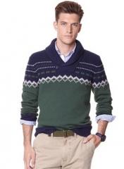 Nautica fair isle sweater at Macys