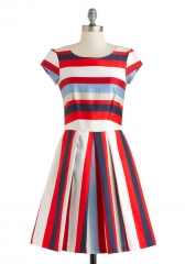 Nautical in the World Dress at ModCloth