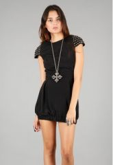 Naven studded top at Singer 22