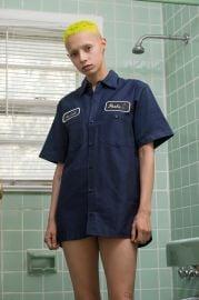 Navy Short Sleeve Shirt at Peels