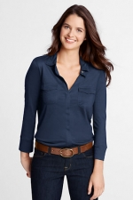 Navy shirt like Robins at Landsend