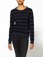 Navy striped sweater by Pretty Penny at Piperlime