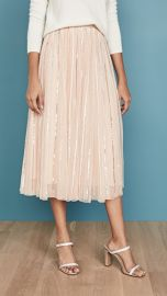 Needle  amp  Thread Shimmer Sequin Midi Skirt at Shopbop