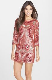 Needle andamp Thread Tapestry Sequin Minidress at Nordstrom