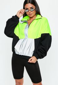 Neon Windbreaker Jacket by Missguided at Missguided