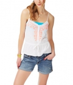 Neon embroidered cami from Aeropostale at Aeropostale