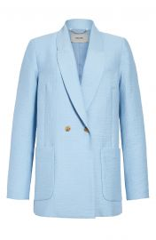 New Amboy Double Breasted Cotton Blend Blazer at Nordstrom