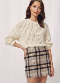 New Classic Mini Skirt at Aritzia