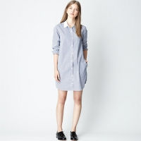 New Classic Shirtdress at Steve Alan