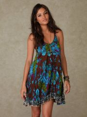 New Crinkle Dress at Free People