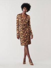 New Jeanne Two Silk-Jersey Wrap Dress at DvF