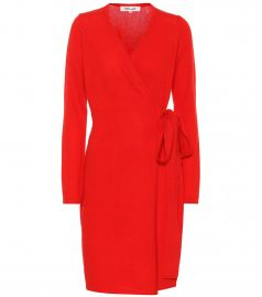 New Linda wool and cashmere dress at Mytheresa