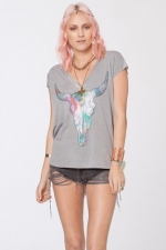 New Mexico tee by Chaser at The Trend Boutique