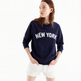 New York sweatshirt by J.Crew at J. Crew