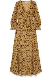 Nicholas - The Front leopard-print silk-crepe maxi dress at Net A Porter