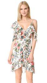 Nicholas Belle Floral Wrap Mini Dress at Shopbop