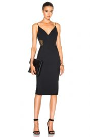 Nicholas Crepe Insert Dress at Forward