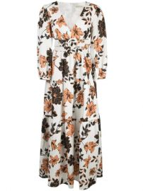 Nicholas Floral Maxi Dress - Farfetch at Farfetch
