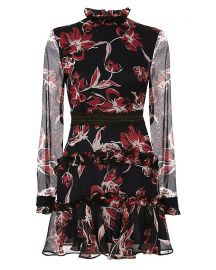 Nicholas Floral Print Dress at Intermix