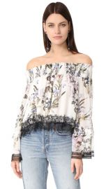 Nicholas Iris Floral Off Shoulder Blouse at Shopbop
