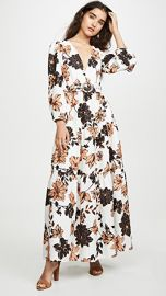 Nicholas Linen Tiered Maxi Dress at Shopbop