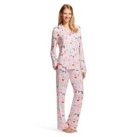 Nick and Nora Pouty Pink Pajama Set at Target