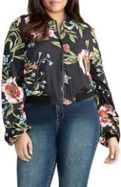 Nicole Floral Bomber Jacket at Nordstrom Rack