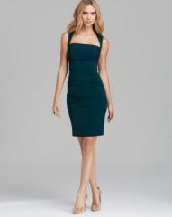 Nicole Miller Square Neck Dress - Felicity at Bloomingdales