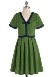 Night Brunch Dress in Fern at ModCloth